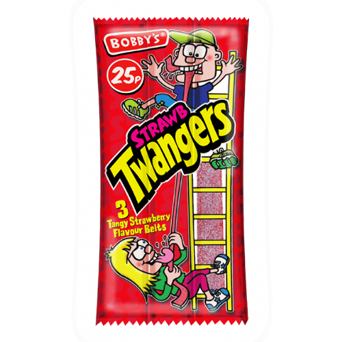 Bobby's Twangers Strawberry (UK)